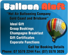 Balloon Aloft Hot Air Ballooning Brisbane